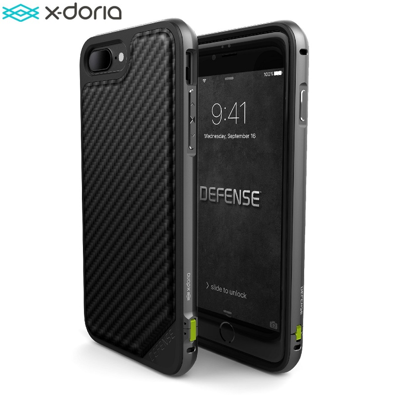 X-doria Defense LUX | iPhone SE 2020/iPhone 7/8 - Carbon