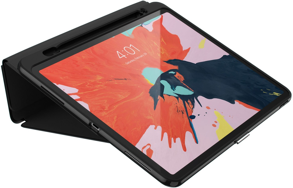 Speck Presidio Pro Folio /w stylus holder | iPad Pro 12.9 3rd Gen (no home button) - Black