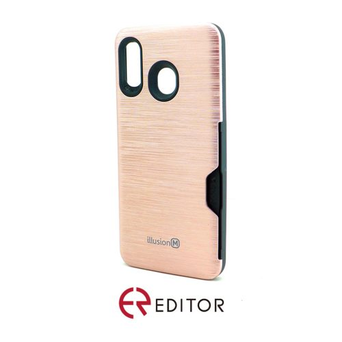 Editor Illusion w/ Card Slot | Samsung A20/30 – Rose Gold
