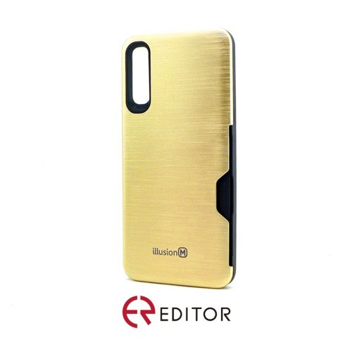 Editor Illusion w/ Card Slot | Samsung A50 – Gold