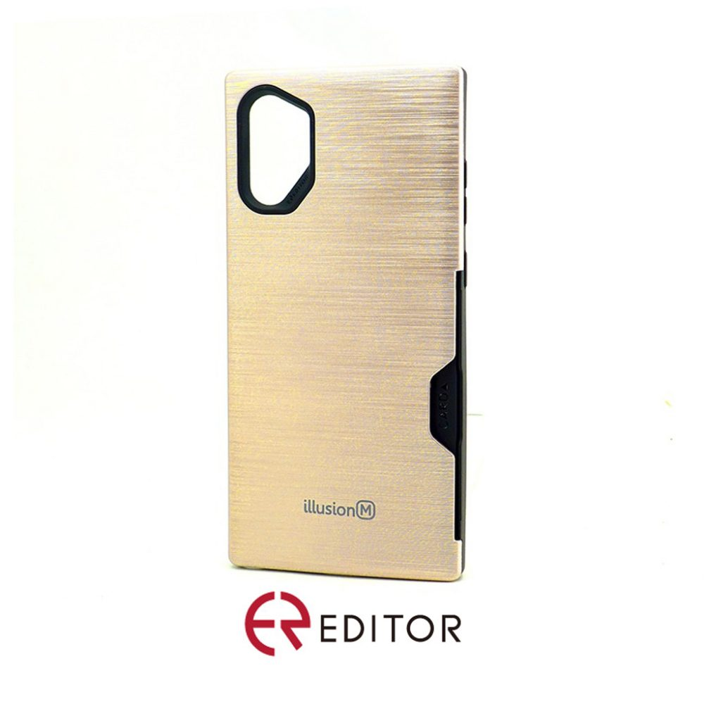 Editor Illusion w/ Card Slot | Samsung Note 10 – Rose Gold