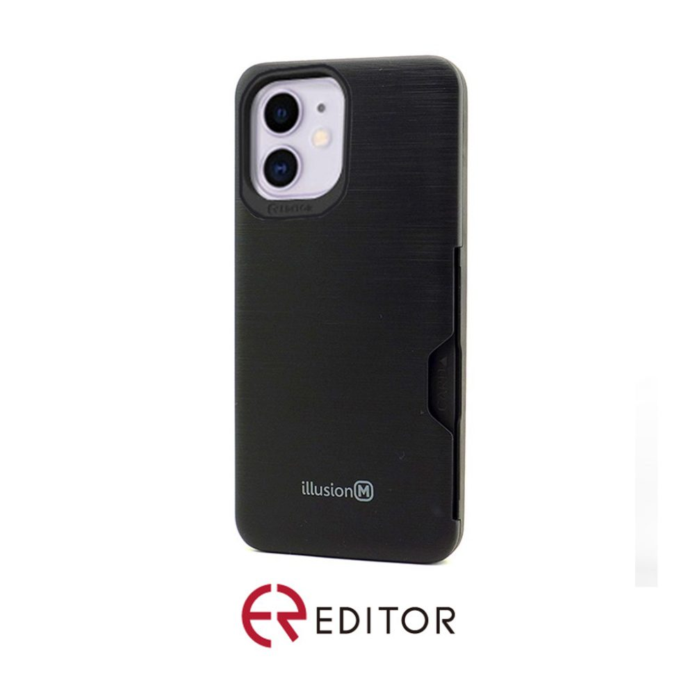 Editor Illusion w/ Card Slot | iPhone 11 Pro Max – Black