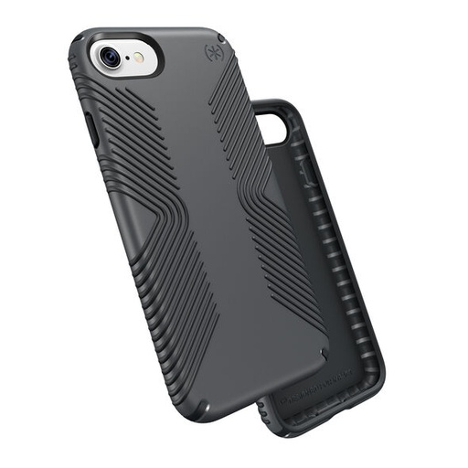 [79987-5731] Speck Presidio Grip | iPhone 7/8/SE 2020 – GRAPHITE GREY/CHARCOAL GREY