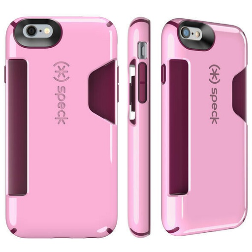 [73806-C258] Speck CandyShell CARD | iPhone 6/6S – Pale Rose Pink