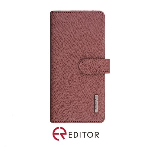 [BC-30669] Korean Simple D Double Folio | Samsung A11 - Rose Gold