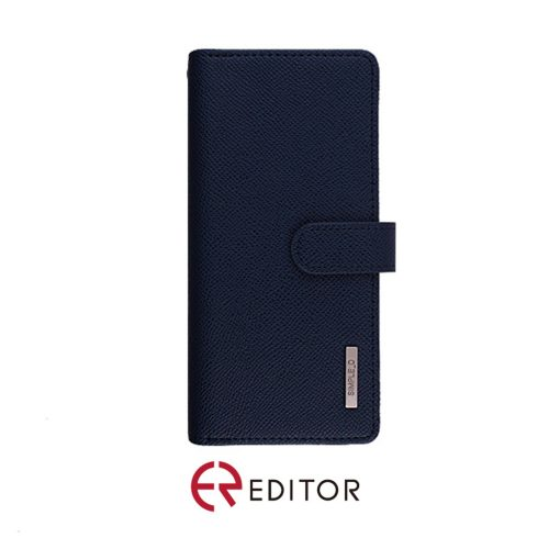 [BC-30857] Korean Simple D Double Folio | Samsung Note 20 - Navy