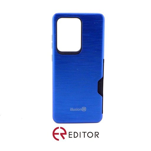 [BC-30876] Editor Illusion w/ Card Slot | Samsung Note 20 – Blue