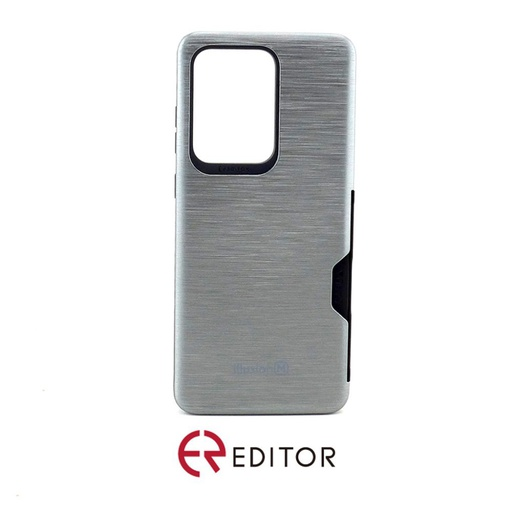 [BC-30879] Editor Illusion w/ Card Slot | Samsung Note 20 Ultra – GunMetal