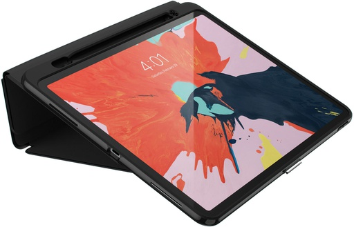 [122014-1050] Speck Presidio Pro Folio /w stylus holder | iPad Pro 12.9 3rd Gen (no home button) - Black