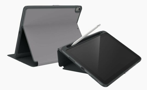 [122014-7684] Speck Presidio Pro Folio /w stylus holder | iPad Pro 12.9 3rd Gen (no home button) - Grey