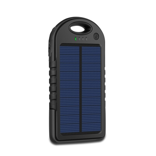 [BC-30889] JuiceUp | Robust Solar Power Bank - 4000mAh