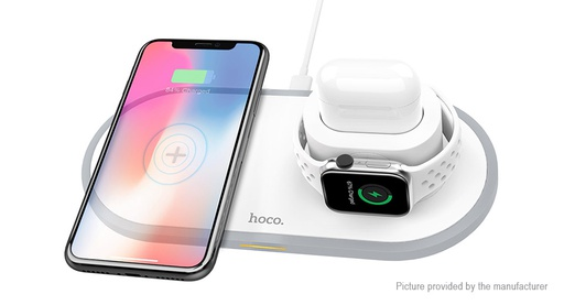 [CW21] HOCO CW21 | 3in1 Wireless Fast Charger Phone/Apple Watch/Airpods
