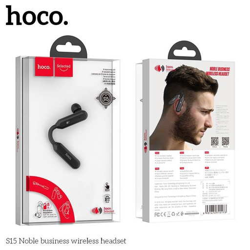 [S15] Hoco S15 | Noble Business Wireless Headset
