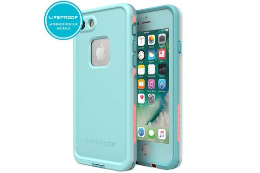 [77-56790] LifeProof Fre | iPhone 7/8/SE (2nd Gen) - Blue/Coral