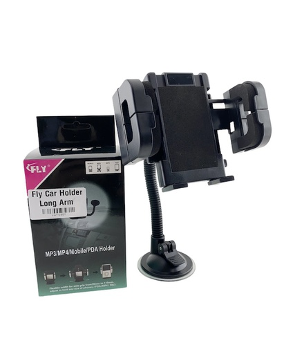 [BC-31161] Fly Universal Long Arm | Windscreen Car Holder