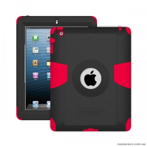 [BC-31488] US Trident Kraken AMS Military Grade | iPad 2/3/4 - Red