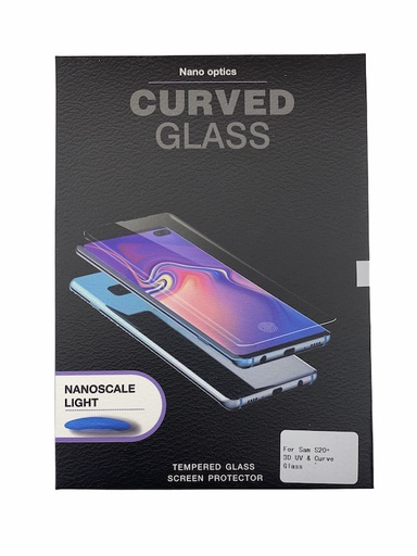 [BC-31494] Nano Optics UV Glue Curved Glass | Samsung S20