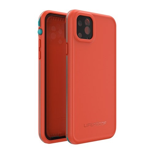 [77-62488] Lifeproof FRE Rugged/Drop/Water Proof | iPhone 11 (6.1) - Red/Organe