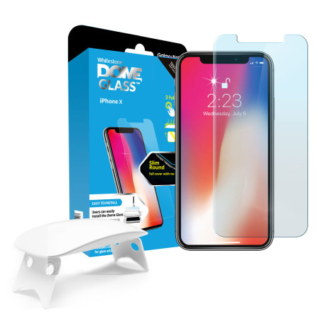 [BC-31590] Korean Whitestone UV Dome Glass – iPhone 12 Pro Max (6.7)