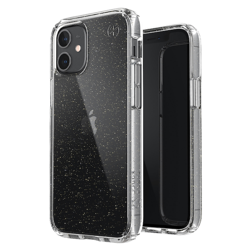 [138501-5636] Speck Presidio (4m drop) | iPhone 12 Pro Max (6.7) - Perfect Clear Glitter