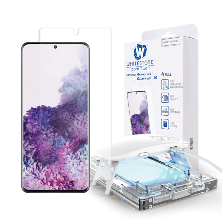 [BC-31730] Korean Whitestone UV Dome Glass | Samsung Galaxy S21 Ultra – Ultrasonic FingerPrint (1 installation frame per shop)