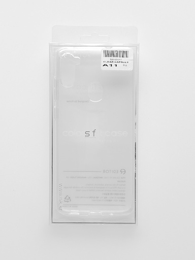 [BC-31748] Editor Transparent Capsule | Samsung Galaxy S21 (6.2) - Clear