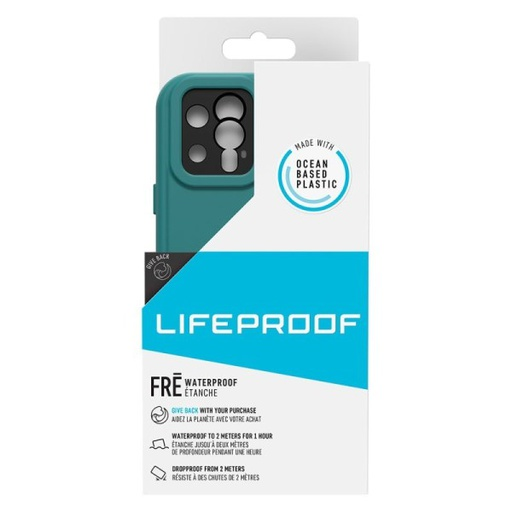 [77-65413] Lifeproof Fre Waterproof | iPhone 12 Pro (6.1) - Free Diver