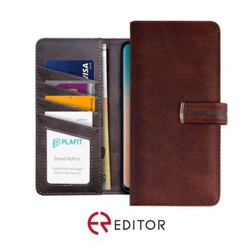 [BC-30241] Editor Point L - iPhone 7/8/SE 2020 - Brown