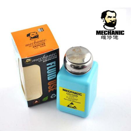 [BC-30414] Mechanic 180ml High Quality Plastic Liquid Alcohol Bottle