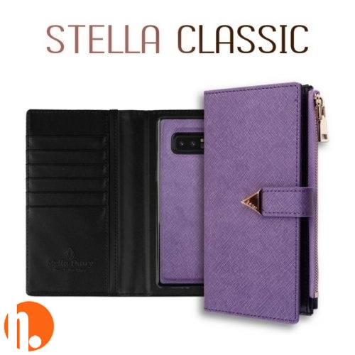 [BC-30538] Korean Stella Detachable Diary | iPhone 11 Pro (5.8) - Purple