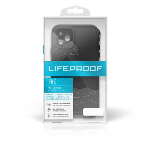 [77-62608] LifeProof Fre Rugged/Drop/Water Proof | iPhone 11 Pro Max (6.5) - Black